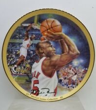 "Michael Jordan Collection 1995 The Comeback 8-1/4"" COA Bradford Upper Deck Plate"