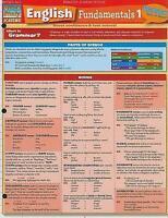 NEW English Fundamentals 1 (Quickstudy: Academic) by Inc. BarCharts