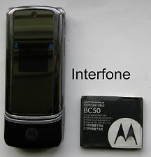 Motorola KRZR K1 Mobile Phone-Exc.Con-EE/TMobile/Virgin-Optional Charger Bundle