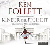 KEN FOLLETT - KINDER DER FREIHEIT 12 CD NEU