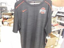 Nike Dri Fit Mens Large Short Sleeve T Shirt Ohio State Buckeyes