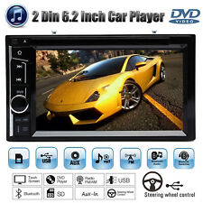 For Honda 6.2inch 2Din Car Stereo Radio Player Touchscreen Bluetooth USB MP3 SUB