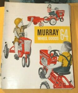 1964 Murray Wheel-goods for 1964 Dealer catalog 19 pages