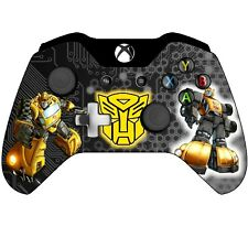 MICROSOFT XBOX ONE WIRELESS CONTROLLER Transformers [Bumble~ Bee 🐝 Themed]