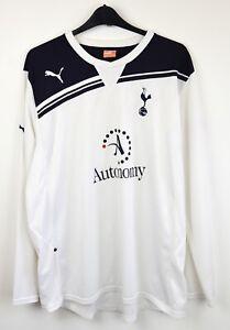 FC TOTTENHAM HOTSPUR Home 2010 2011 long sleeved Shirt Men 2XL Jersey Spurs Puma