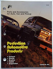 1988 Perfect Automotive Products Parts & Accessories Auto & Van & Pick-Up Trucks