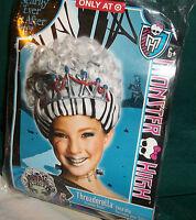 Monster High Frankie Stein Threaderella Child Wig Sz 6+ New/ringlets