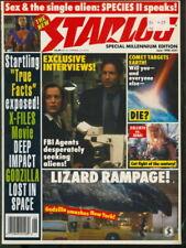 1998 Starlog Magazine: X-Files/Godzilla/Callisto