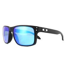 a66a012b36 Oakley Gafas de Sol Holbrook OO9102-F0 Negro Mate Prizm Zafiro Polarizados