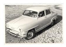 PHOTO ANCIENNE Automobile Voiture Auto Simca Aronde vers 1950 1960 Conducteur