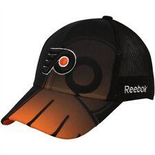 Philadelphia Flyers nhl hockey reebok hockey sur glace Flexfit casquette Nouveau size s/m