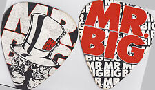 Mr. Big RARE VIP Package Only Collectable Oversized Coaster Guitar Pick Set