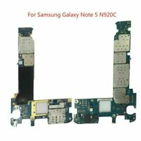 For Samsung Galaxy Note 5 N920C 32GB Unlocked Main Motherboard Logic Board Part