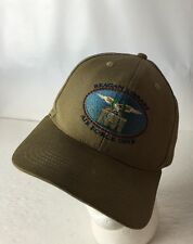 Reagan Presidential Library Hat Cap Air Force One Institute Adjustable