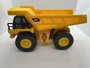 Vintage 1997 Toy State Yellow Cat Caterpillar Dump Truck With Sound & Lights