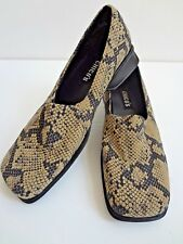 """""""Chico's"""" Lady's Shoes, Snake Skin Look, Caty Shoe, 6M"""