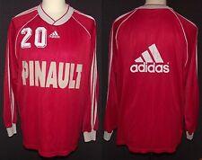 maillot Rennes Stade Rennais porté entrainement match worn shirt vintage 90's