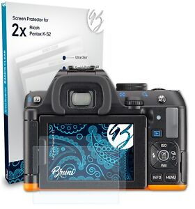 Bruni 2x Protective Film for Ricoh Pentax K-S2 Screen Protector
