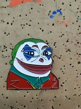 Joker Pepe The Frog Meme Enamel Pin