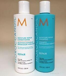 Moroccan Oil Hair Moisture Repair Shampoo & Conditioner Set 2 x 250ml