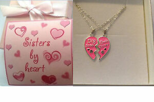 Personalised girls ladies Big sister Little sister necklace all sizes gift