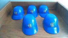 5 Binghamton Mets Mini Logo Helmets