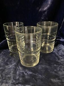 (3) IKEA - SVEPA Stackable 14 Oz Drinking Glasses Tumblers Made in Italy 10288