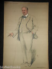 Original Vanity Fair Print of Arthur Frederick Bettinson - 1911, Boxer/Sportsman