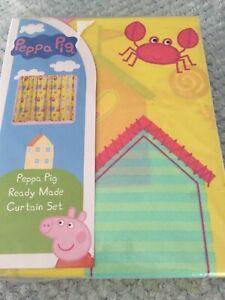 Peppa Pig Curtains  66x72 Ins