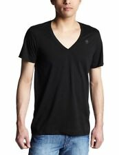 G-Star Cotton V Neck Fitted T-Shirts for Men