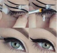 Preliner Eyeliner 2 Schablonen Smokey Eye Bottom Liner Make Up NEU TOP