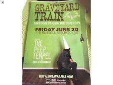 Gravyyard Train Take One To Know One Australian Tour Poster June 2014 40 X 30 Cm
