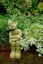 Stone Garden Ornament Gargoyle Elf (Peter)