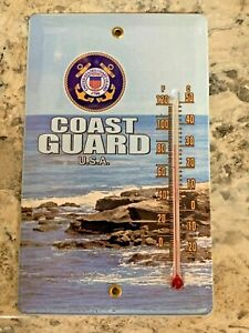 United States Coast Guard Thermometer Magnet // Free Shipping