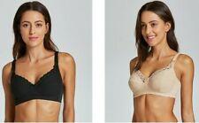 Pregnant Women Underwear Plus Size Full Coverage Wire Free Nursing Bra Spandex