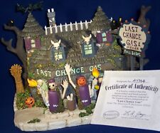 Munsters Halloween Hawthorne Village Collectible Last Chance Gas Decoration