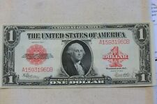 1923 ONE DOLLAR ~ UNITED STATES NOTE ~ RED SEAL ~ CU