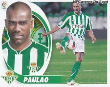 04 PAULAO BRAZIL REAL BETIS AS.SAINT-ETIENNE STICKER CROMO LIGA 2013 PANINI