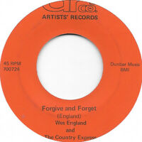 WES ENGLAND Forgive And Forget on Arco country bop 45 HEAR