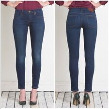 Henry & Belle Jeans Ideal Ankle Skiny 25 Cotton Blend Stretch Whiskered Excellen