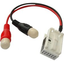 Adaptateur Câble AUX quadlock vers RCA pour navi navigation RNS-310 RNS-510 VW