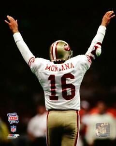 JOE MONTANA Super Bowl XXIV Touchdown Celebration 8X10 PHOTO SAN FRANCISCO 49ERS
