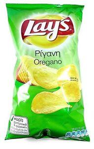 Lays Oregano Greek Feta Cheese Tomato Ketchup Potato Chips Crisps Snacks 6 packs