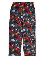 Deadpool pajamas mens Small pants lounge Bottoms Red Fleece Marvel soft