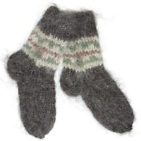 Wool Socks Sheepskin Sheep Soft Fuzzy Warming Knitted Super Warm Handmade Winter