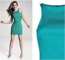 Mango Textured Racer Bodycon Occasion Party Cocktail Mini Dress