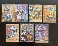 Lot of 7 Bowman's Best Emmitt Smith Cards w/ Inserts: Mirror Image, Year to Year