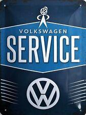 Nostalgic-art Panneau Métallique 15x20 cm VW Service