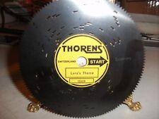 Vintage Thorens Metal Music Box Disc-Tune:Lara's Tune Dr Zhivago #2