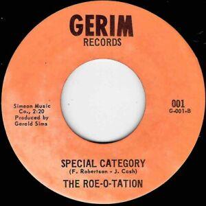 "NORTHERN SOUL - ROE-O-TATION - SPECIAL CATEGORY - GERIM - ""HEAR"""